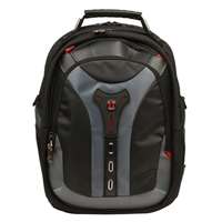 "Swiss Gear Pegasus Notebook Backpack Fits Screens up to 17"" Black/Blue"
