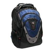 "Swiss Gear Ibex Notebook Backpack Fits Screens up to 17"" Blue/Black"