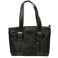"Swiss Gear Diana Ladies Notebook Tote Fits Screens up to 15.4"" - Black"