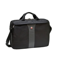 "Swiss Gear Legacy Slimcase Notebook Case Fits Screens up to 17"" - Black"