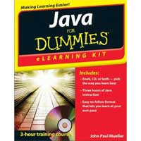 Wiley JAVA ELEARNING KIT DUMMIE