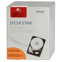 """HGST Deskstar 7K4000 4TB 7,200 RPM SATA III 6.0Gb/s 3.5"""" Internal Hard Drive HDS724040ALE640"""