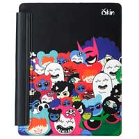 iSkin Inc Happy Friends Aura Case for iPad 2