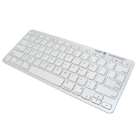 Inland ProHT Bluetooth Keyboard White