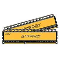 Crucial Ballistix Tactical 16GB DDR3-1600 (PC3-12800) CL8 Desktop Memory Kit (Two 8GB Memory Modules)