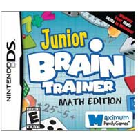 Maximum Family Games Junior Brain Trainer Math Edition