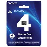 Sony 4GB Memory Card (PS Vita)