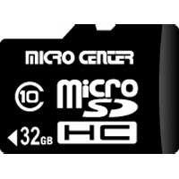 Micro Center 32GB Class 10 Micro SDHC Flash Media Card