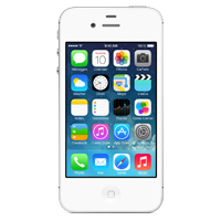 Apple iPhone 4S 64GB - White (AT&T)
