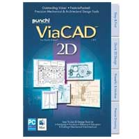 Encore Software Punch ViaCAD 2D V8 (PC/Mac)