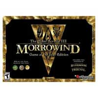 Bethesda Elder Scroll III: Morrowind Game of the Year Edition (PC)