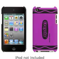 Griffin Crayola Classics Case for iPod touch 4 Purple Pizzazz Crayon