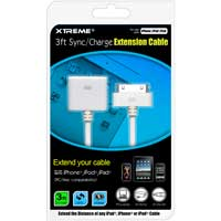Xtreme Cables Sync and Charge Extension Cable 3 ft.
