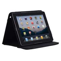 Incipio Technologies Premium Kickstand Case for iPad 3 Black Nylon
