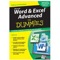 Rhino Word & Excel Advanced For Dummies (PC/Mac)