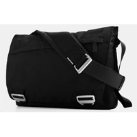 "BlueLounge Design Bonobo Series Messenger Bag Fits Screens up to 17"" Black"