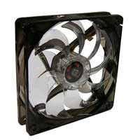 Fanner Tech USA Masscool 120mm Green LED Ball Bearing Case Fan