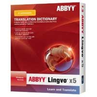 ABBYY Lingvo x5 Professional Edition 8 Languages (English Core) (PC)