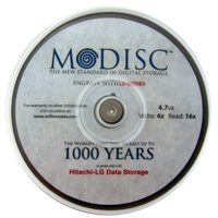 M-Disc 4x 4.7GB/240 Minute 25 Pack