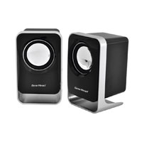 Gear Head 2.0 Stereo Speaker System