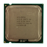 Intel 2.4 GHz Socket 775 Core 2 Duo Processor - Refurbished