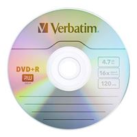Verbatim DVD+R 16x 4.7GB/120 Minute 50-Pack