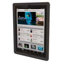 Hard Candy Bubble 360 Case for iPad 3 Black