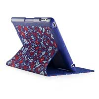 Speck Products FitFolio Case for iPad 3 BitsyFlora Blue/Red