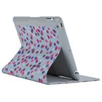 Speck Products FitFolio Case for iPad 3 SprinkleTwinkle Grey/Pink