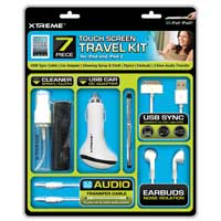 Xtreme Cables 7piece Touchscreen Travel Kit