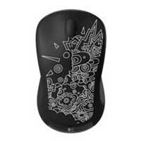 Logitech Wireless Mouse M310 - Black Topography