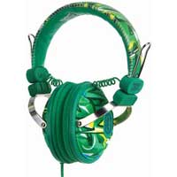 Ecko Unltd. EKU-EXH-GRN Exhibit Over Ear Headphones - Green