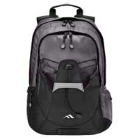 "Brenthaven Pacific Notebook Backpack Fits Screens up to 15.4"" Gray"