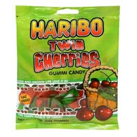 Continental Concession Supplies Gummi Twin Cherries Candy