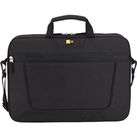 "Case Logic Laptop Briefcase Fits Screens up to 15.6"" - Black"