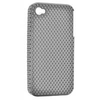 Bytech Rubber Sport Case for iPhone 4/4S White/Gray