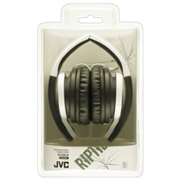 JVC Riptidz HA-S200 On-Ear Headphones - White