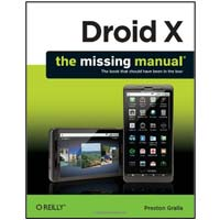 O'Reilly DROID X MISSING MANUAL