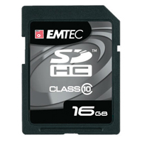 Emtec International 16GB Class 10 Secure Digital High Capacity (SDHC) Flash Media Card EKMSD16G150XHC