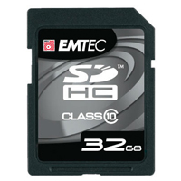 Emtec International 32GB Class 10 150X Secure Digital High Capacity (SDHC) Flash Media Card EKMSD32G150XHC