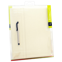 iEssentials Fitted Case for iPad 2/3 - White