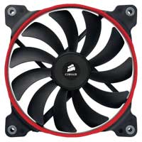 Corsair Air AF120 Performance Series Hydraulic Bearing 120mm Case Fan - Twin Pack