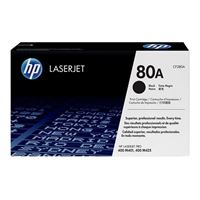 HP 80A LaserJet Black Toner Cartridge