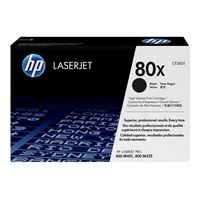 HP 80X LaserJet Toner Cartridge  - Black