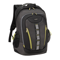 "SOLO Storm Notebook Backpack Fits Screens up to 16"" Black"