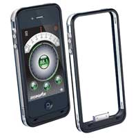 Digipower FM Transmitter and Bumper Case for iPhone 4S Black