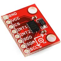 SparkFun Electronics Triple Axis Accelerometer Breakout