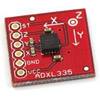 SparkFun Electronics Triple Axis Accelerometer Breakout - ADXL335