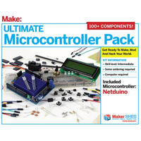 O'Reilly Maker Shed Ultimate Microcontroller Pack - Netduino Version