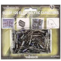 Velleman 120 Piece Electrolytic Capacitor Assortment